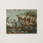 The Miraculous Draught of Fishes (cartoon for the Jigsaw Puzzles