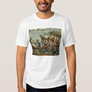 The Miraculous Draught of Fishes (cartoon for the Tee Shirt
