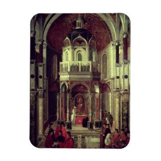 The Miraculous Healing of Pietro de' Ludovici, 150 Rectangular Photo Magnet