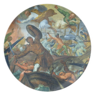 The Miraculous Intervention of SS Peter and Paul i Melamine Plate