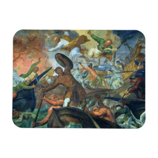 The Miraculous Intervention of SS Peter and Paul i Rectangular Photo Magnet