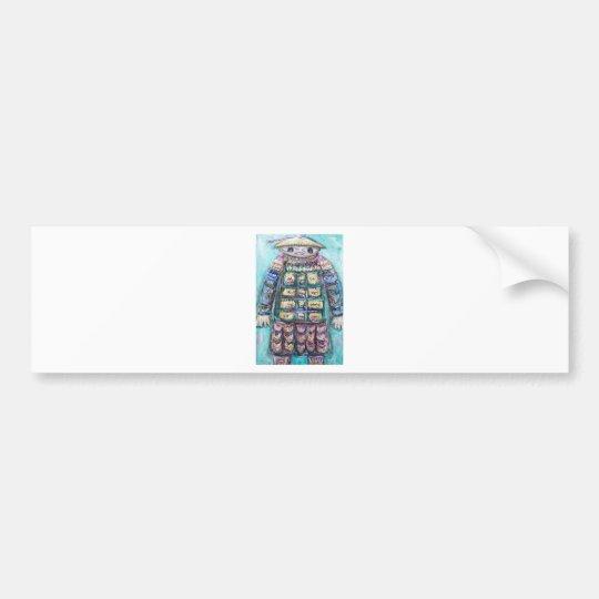 The Miraculous Mandarin (outsider art) Bumper Sticker