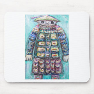 The Miraculous Mandarin (outsider art) Mouse Pad