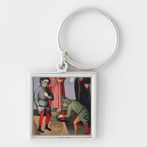 The Miraculous Multiplication of the Grain, detail Keychain