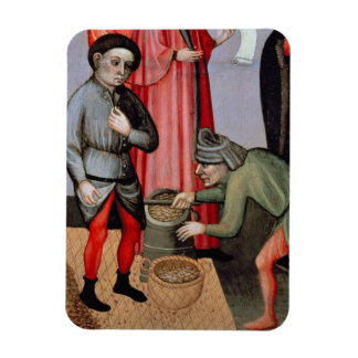 The Miraculous Multiplication of the Grain, detail Rectangular Photo Magnet