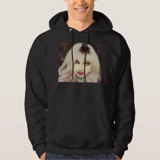 The Mirage Gothic Black Mens Hoodie By Trinnita