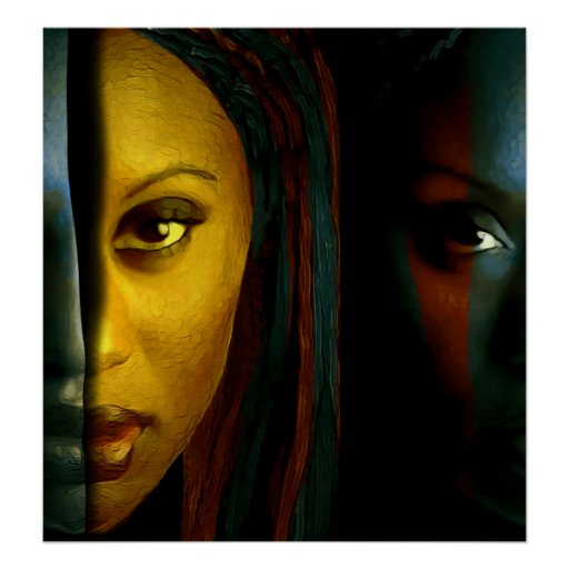 The mirror has two faces poster for Mirror has two faces