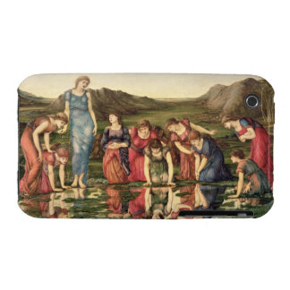 The Mirror of Venus, 1870-76 (oil on canvas) iPhone 3 Case-Mate Case