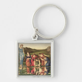The Mirror of Venus, 1870-76 (oil on canvas) Keychain