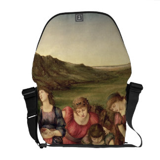 The Mirror of Venus, 1870-76 (oil on canvas) Courier Bag