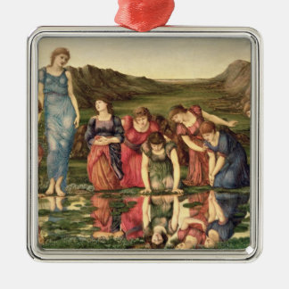 The Mirror of Venus, 1870-76 (oil on canvas) Christmas Ornaments