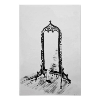 """The Mirror"" Print"