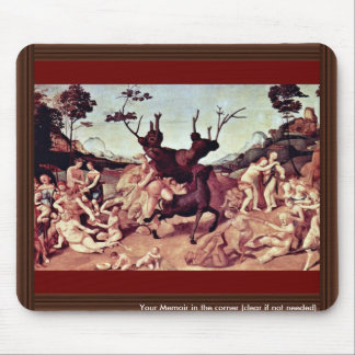 The Misfortune Of Silenos By Piero Di Cosimo Mouse Pad
