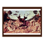 The Misfortune Of Silenos By Piero Di Cosimo Post Card