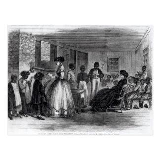 The Misses Cooke's schoolroom Postcard