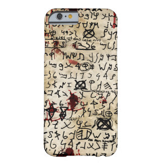 The Missing Page - Necronomicon Barely There iPhone 6 Case