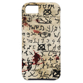 The Missing Page - Necronomicon iPhone 5 Cover
