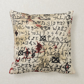 The Missing page Pillow