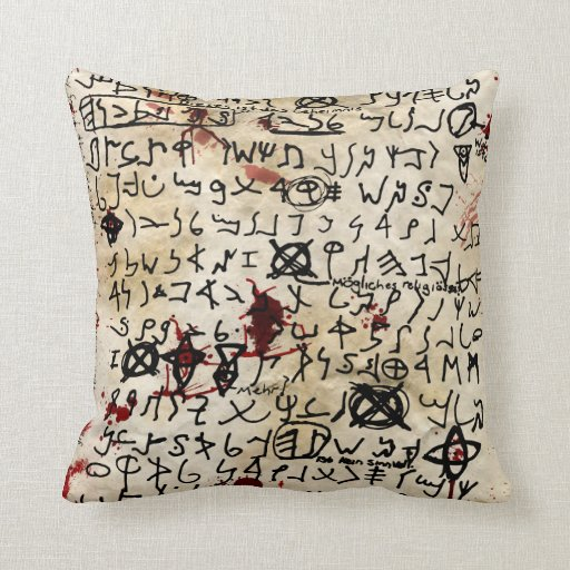 The Missing page Pillows