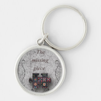The missing part… grey keychain