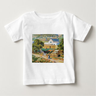 The Mission Church by Kenneth Miller Adams Baby T-Shirt