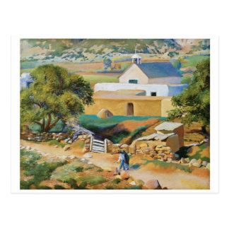The Mission Church by Kenneth Miller Adams Post Cards