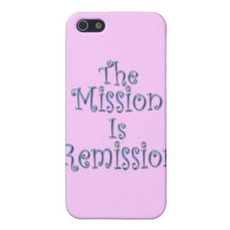 The Mission Is Remission 3 iPhone SE/5/5s Cover