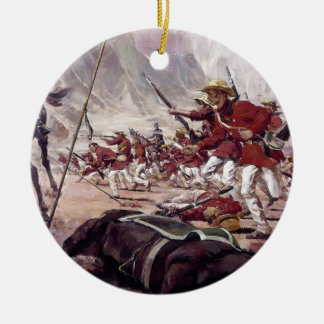 The Mississippi Rifles by Ken Riley Double-Sided Ceramic Round Christmas Ornament