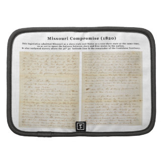 The Missouri Compromise (1820) Planner