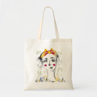 The Missy Bow Budget Tote Bag