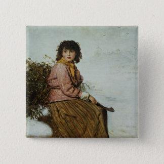 The Mistletoe Gatherer, 1894 Button