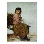 The Mistletoe Gatherer, 1894 Postcard