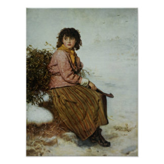 The Mistletoe Gatherer, 1894 Print