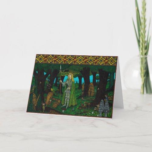 The Mistletoe King, Mistletoe Lance (elf)
