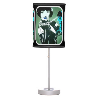 'the Mistress' on a table lamp