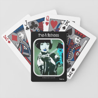 'the Mistress' Playing Cards