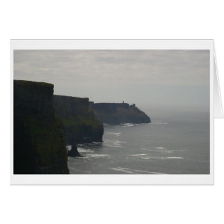 The Misty Cliffs of Moher Card