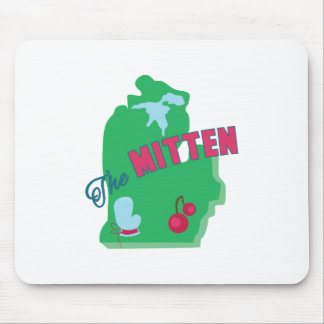 The Mitten Mouse Pad