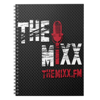 The MIXX Branded Spiral Notebook