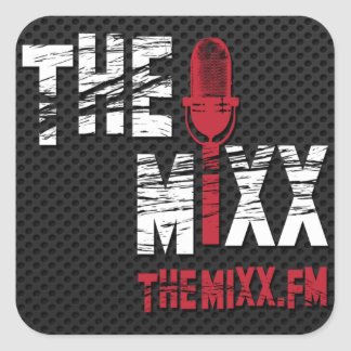 The MIXX Branded Square Sticker