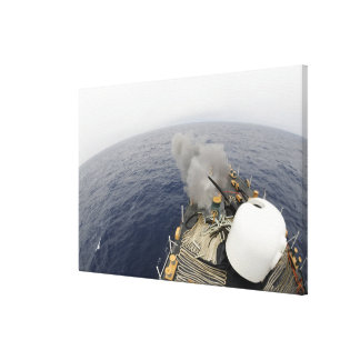 The MK-75 76mm cannon Canvas Print