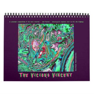 The Mk V Edition! Vincent Motorcycle Engine 2012   Calendar