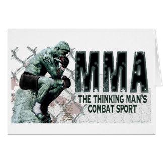 The MMA Thinker Card