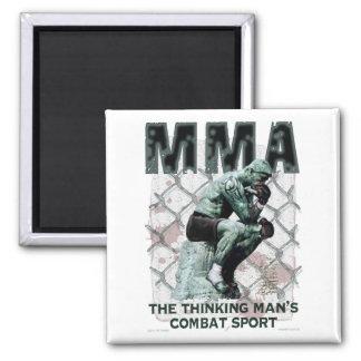 The MMA Thinker Magnet