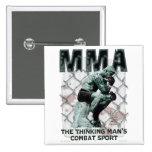 The MMA Thinker Pin