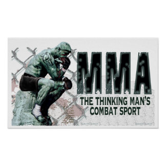 The MMA Thinker Poster