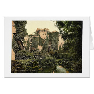 The moat, Raglan Castle, England magnificent Photo Greeting Card