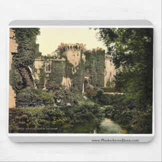 The moat, Raglan Castle, England magnificent Photo Mouse Pad