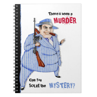 The Mob Boss Murder Mystery Notebook