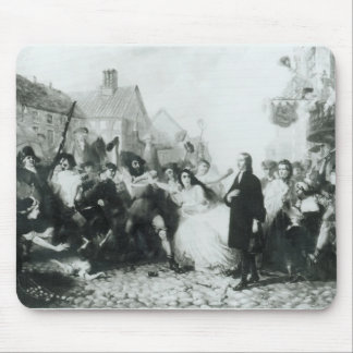 The Mobbing of John Wesley  at Wednesbury Mouse Pad